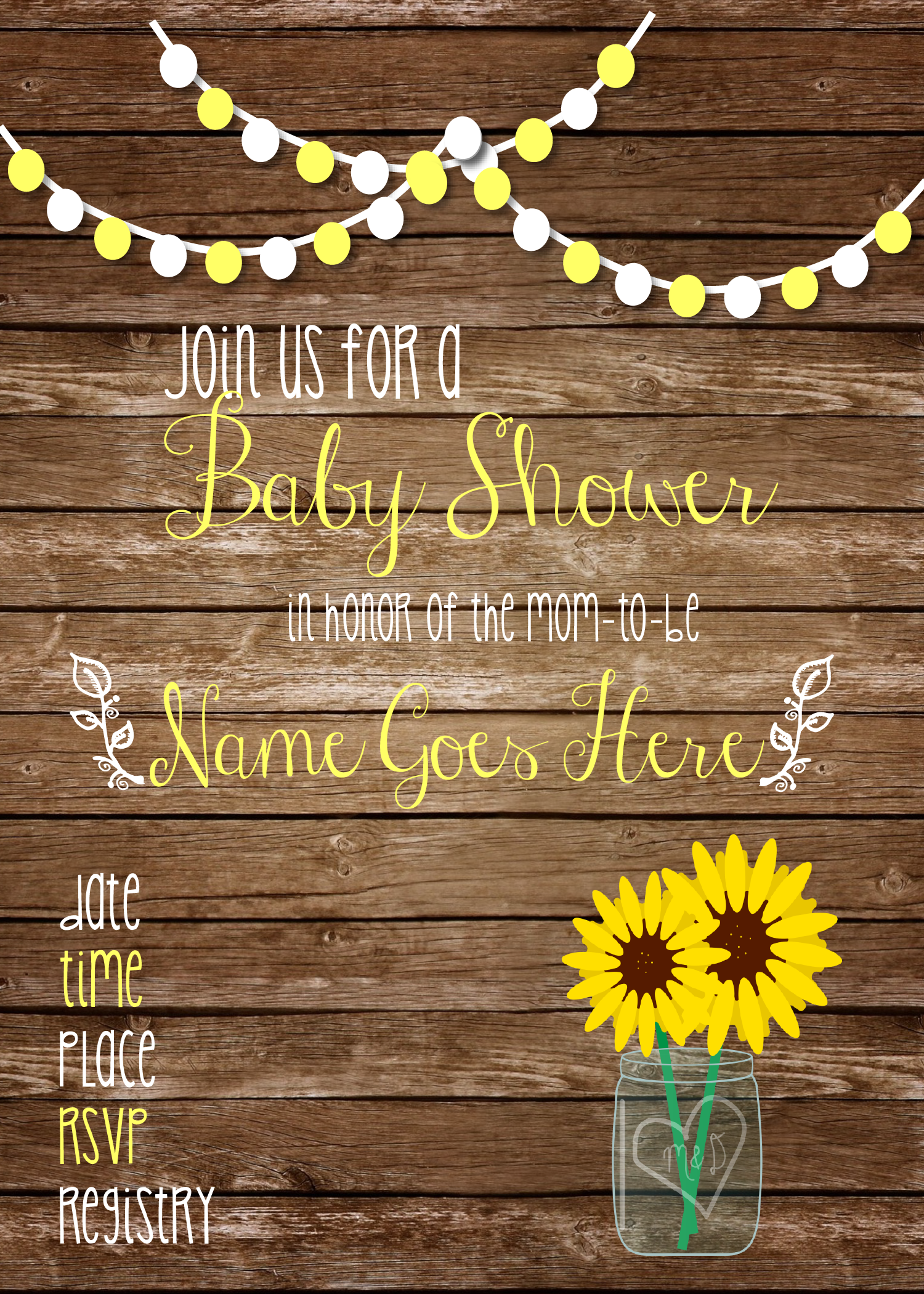 baby shower rustic sunflower-01