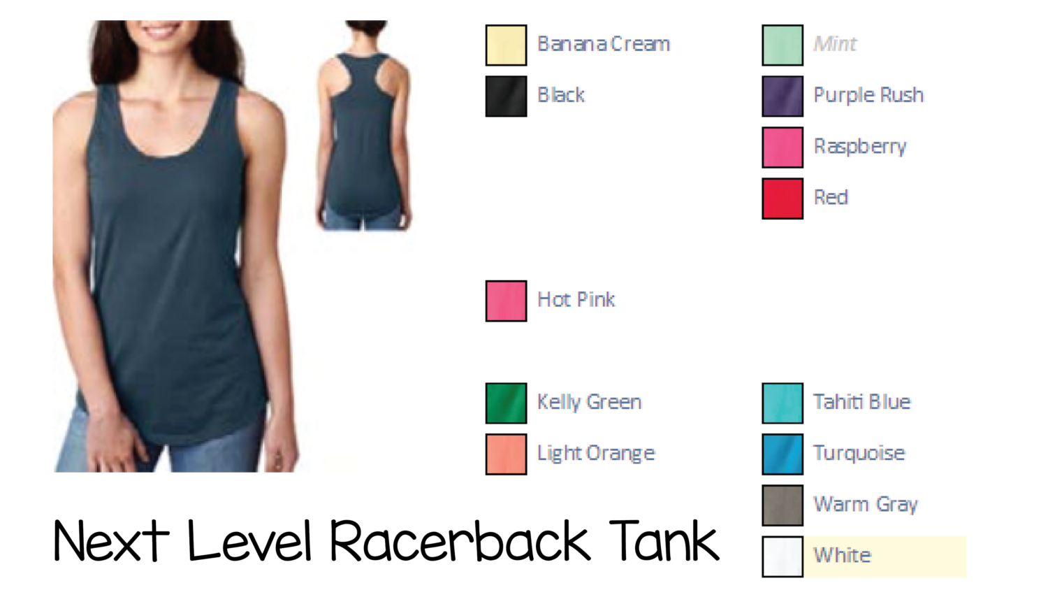 Ladies Fitted Tank