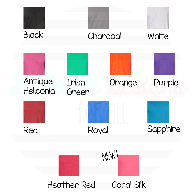 gildan soft style colors