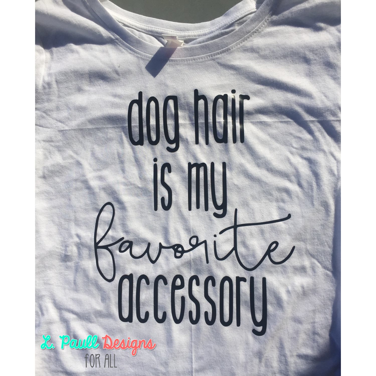 Dog Hair Ladies Long Sleeve