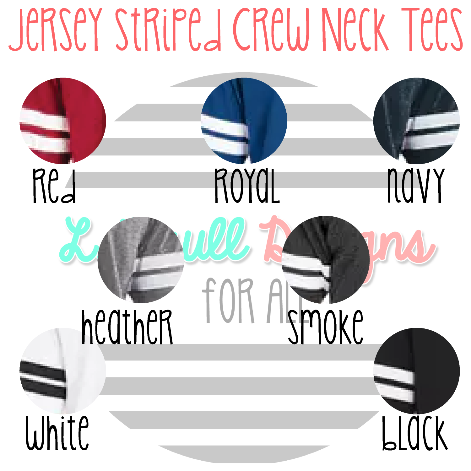 jersey striped colors